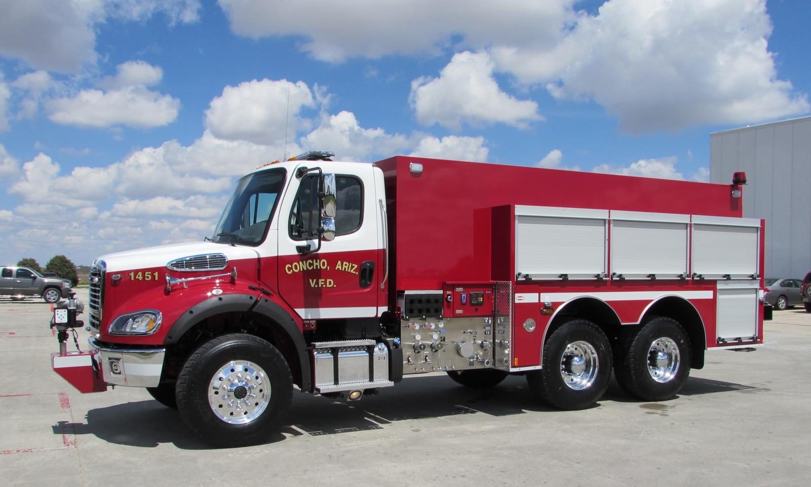 Concho (AZ) Danko Fire Tender