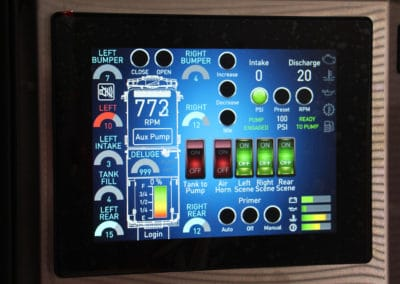 HME Ahrens-Fox WUI-touch-screen - web