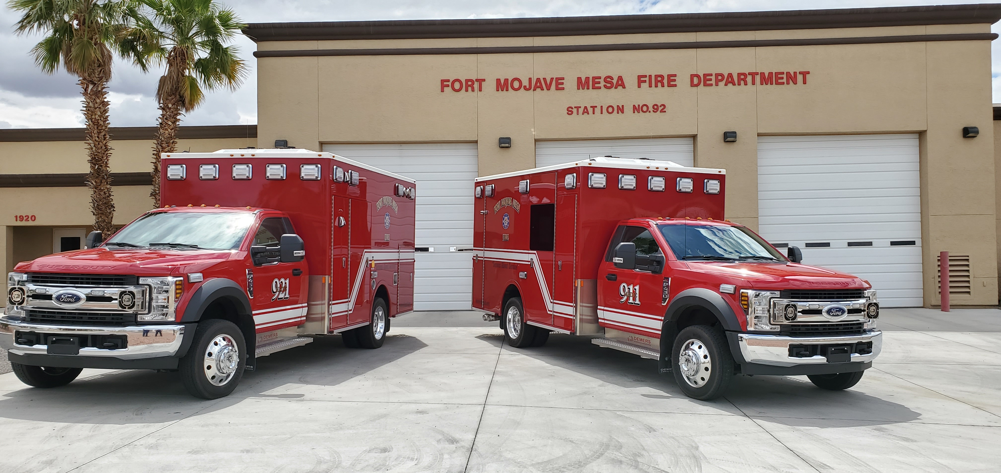 Fort Mojave Mesa FD: Demers MXP150 Type I