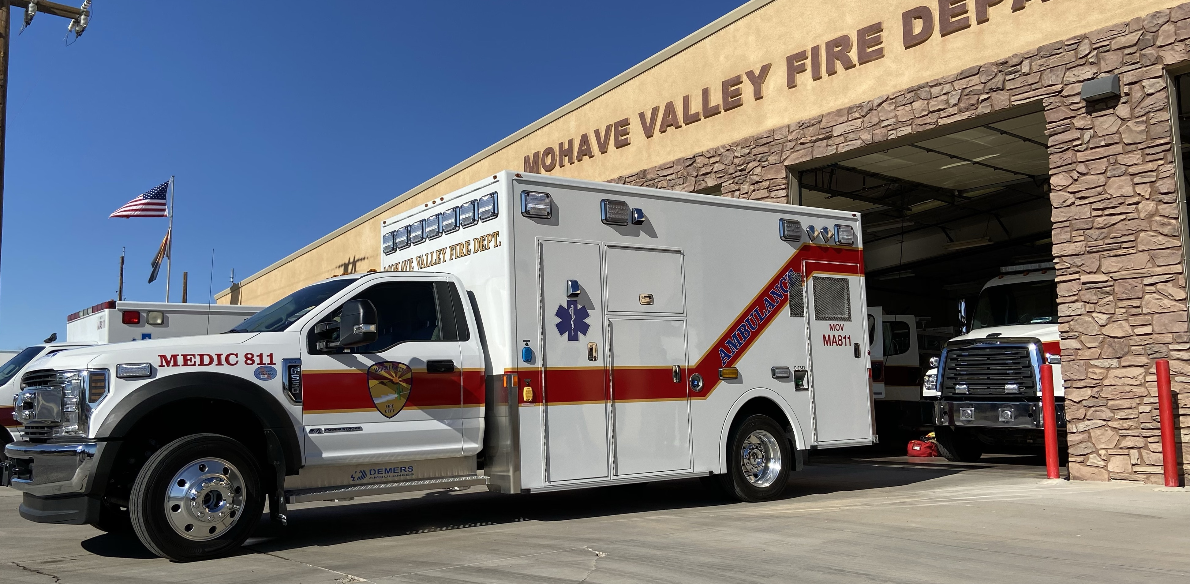Mohave Valley FD - Demers MXP170
