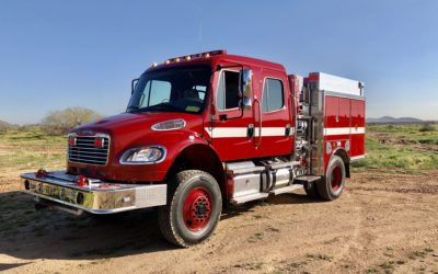 HME 4x4 Wildland-Urban Interface Pumper (#23301)