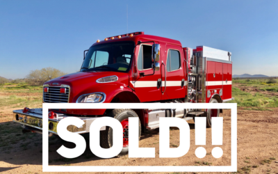 SOLD!! - HME 4x4 Wildland-Urban Interface Pumper (#23302)